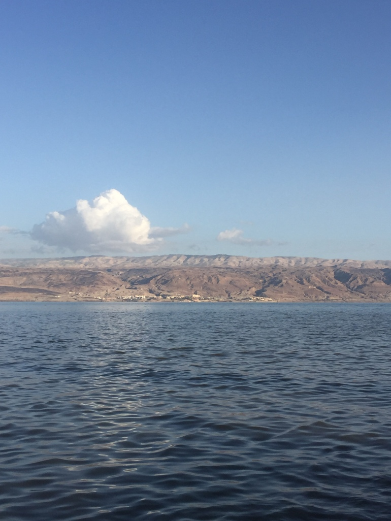 Dead Sea - on the other side is Jordan (2)