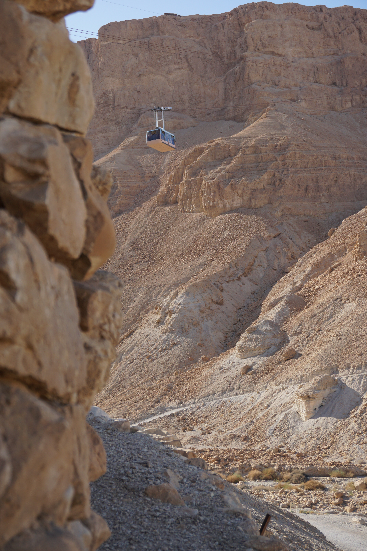 Masada - cable car