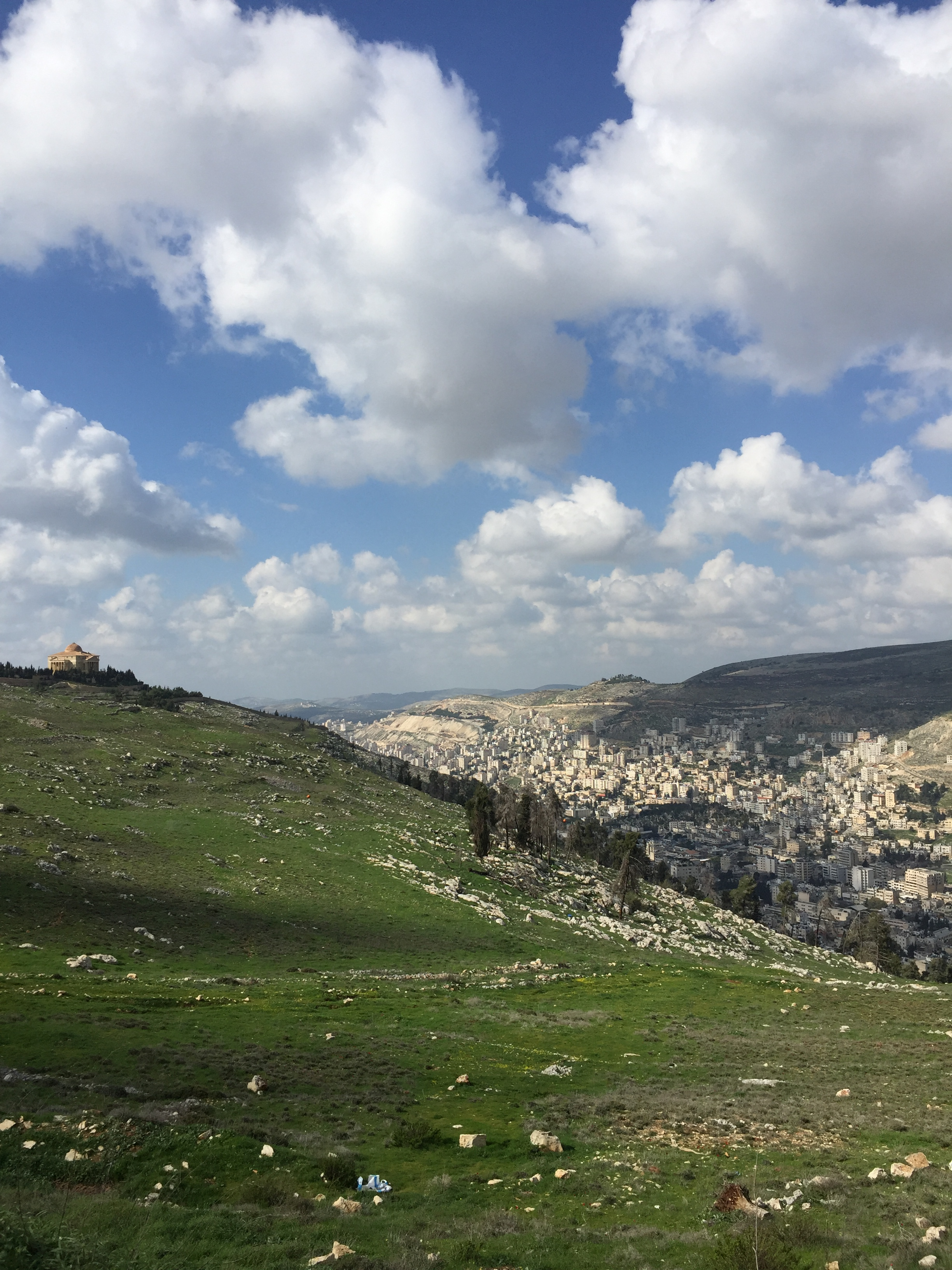 Nablus valley