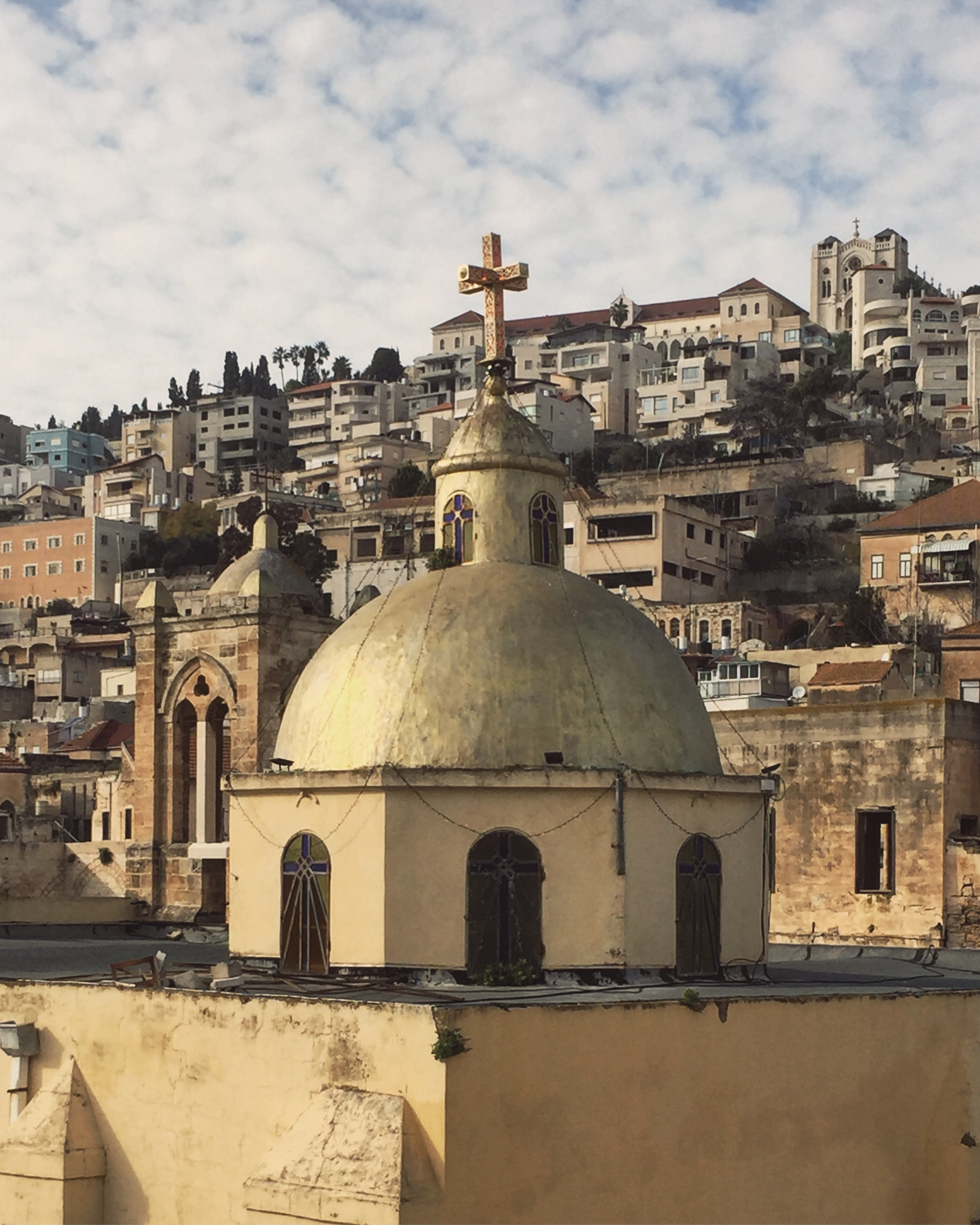 Nazareth - church dome (3)